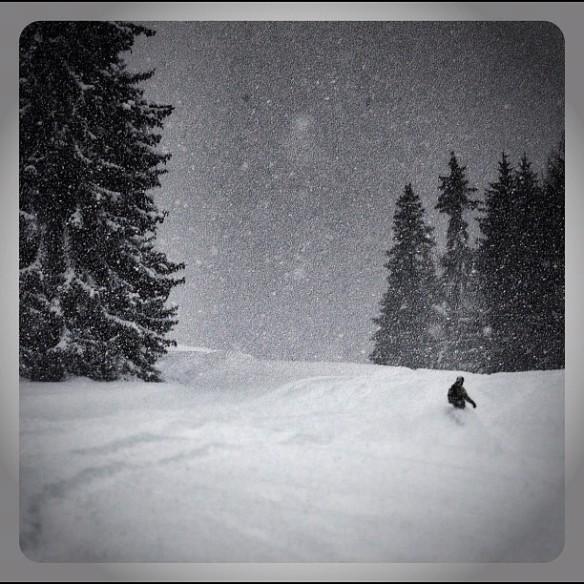 snowboarder branchement App obtenu son distrait
