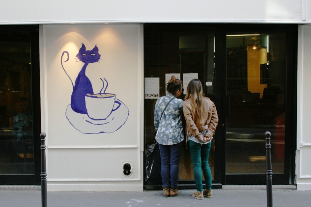 café des chats Paris